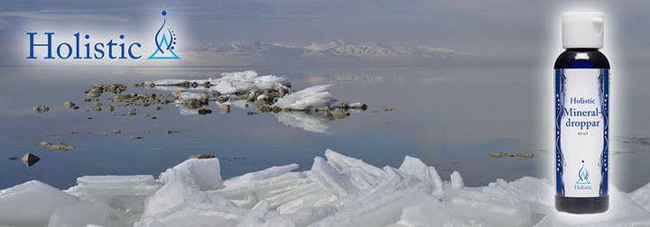 Wielkie slone jezioro